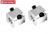 FG6107/02 Aluminium Wiel meenemers B17 mm, 2 St.