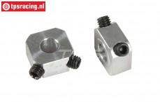 FG6107 Aluminium Wiel meenemers B9,5 mm, 2 St.