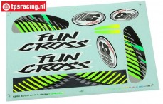 FG6154/02 Stickers Fun Cross, 1 st.