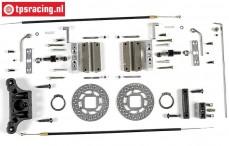 FG6250/06 Tuning Kabel schijfremmen voor, 2WD, Set