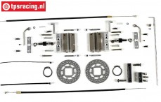 FG6250/07 Tuning Kabel schijfremmen voor, Monster/Stadium, Set