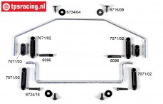 FG6425/01 Stabilisator 2WD 1/6 voor/achter, Set