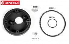 FG6451/03 Luchtfilter adapter zonder choke Ø62 mm, set