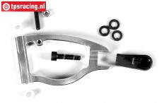 FG6498/02 Aluminium Draagarm voor instelbaar 2WD, 1 st.