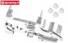 FG66250/05 Aluminium Voor as behuizing 1/6 4WD links, 1 st.
