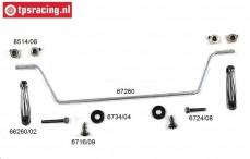 FG67260/10 Stabilisator 1/6 Sports-Line voor, Set