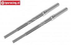 FG67228 Aluminium Instelstang M7-L/R-L110 mm, 2 St.