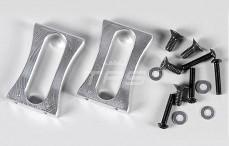 Servo houder staand, (Aluminium), 2 st.