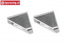 FG67259 Aluminium Voor as bok A begrenzing Leopard2, 2 st.