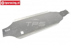 FG67271/01 Aluminium Chassis +26 mm Leopard 2WD, 1 st.