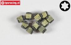 Torx koploos (M5-L5 mm Loctite), (Staal), 10 St.
