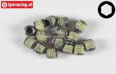Inbus koploos (M5-L6 mm Loctite), (Staal), 10 St.