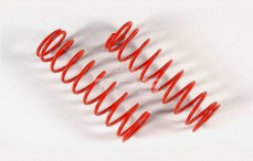 Schokdemper veer (Ø27-Ø32), (Ø2,5 x L105 mm), (Rood), 2 St.