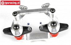 FG67370 Aluminium dubbele Servo-saver 4WD, Set