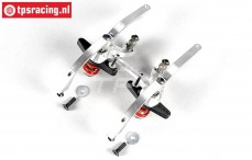 FG67371 Aluminium dubbele Servo-saver 2WD, Set