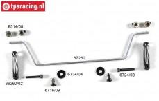 FG67260/10 Stabilisator 1/6 Sports-Line voor Ø4,0 mm, Set