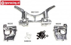 FG68400/01 Aluminium Achter as 4WD WB535, set