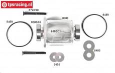 FG68405/01 Differentieel ombouw aluminium 4WD, Set.