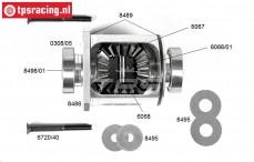 FG68405 Differentieel compleet 4WD, 1 St.
