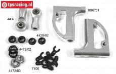 FG68412 Aluminium draagarm voor boven 4WD, Set
