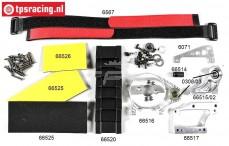 FG68510 Ombouwset, Elektro 1/6 2WD, Set