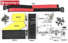 FG68512 Ombouwset Elektro 1/5-1/6 2WD-4WD, Set