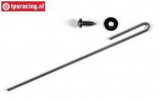 FG7117/01 Uitlaat bevestiging beugel L130-Ø2 mm, 1 st.