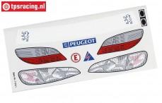 FG7175/01 Stickers Peugeot 406STW, Set