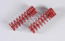 Schokdemper veer progressief (Ø17-Ø21), (Ø2,4 x L68 mm), (Roodl), 2 St.