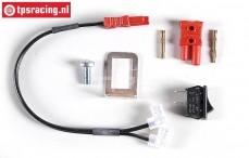 FG7340/03 Motor Stop knop verlenging, Set