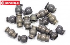 FG7475 Aluminium gewricht kogel met coating 1/5, 18 St.