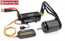 Motor regelaar met Brushless motor, (200A/910KV), Set