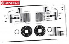 FG8450/01 Kabel schijfremmen voor, 2WD/4WD, Set