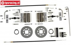 FG8450/05 Tuning Kabel schijfremmen voor, 2WD/4WD, Set