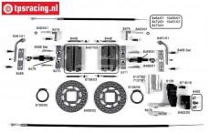 Bouwtekening Kabel remmen FG8452/05