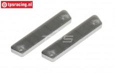FG8456/01 Aluminium Remvoering, 2 St.