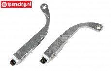 FG8461/02 Aluminium remklauw hevel, L46 mm, 2 St.