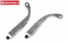 FG8461/03 Aluminium remklauw hevel L46 mm, 2 St.