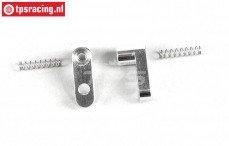 FG8474/05 Aluminium Flex remkabelhouder, L22 mm, 2 St.