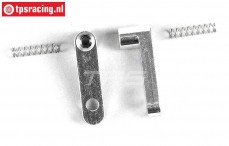 FG8474/06 Aluminium Flex remkabelhouder, L26 mm, 2 St.