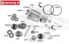 FG8485/05 Differentieel compleet instelbaar sper 2WD, Set.
