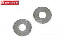 FG8509/05 Pas ring FG, (Ø8-Ø20-H0,5 mm), 2 St.