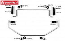 FG8511 Stabilisator 2WD voor/achter Ø4,0 mm, Set