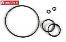 FG8600/11 Differentieel O-ring, Viscose, Set