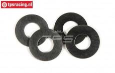 FG8600/12 Pas ring FG, (Ø8-Ø16-H0,1 mm), 4 St.