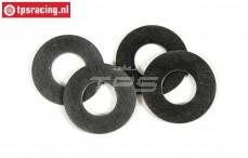 FG8600/13 Pas ring FG, (Ø8-Ø16-H0,5 mm), 4 St.