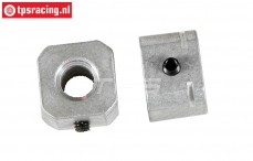 FG8610/02 Aluminium wiel meenemer, L14 mm, Set