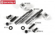 FG8610/11 Tuning Wiel as voor B9,5 mm, Set