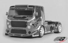 FG Team Race Truck, Sports-Line, 4WD-530, (Transparante Kap)