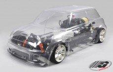 Mini Cooper Sports-Line 4WD-510, (Transparante Kap)